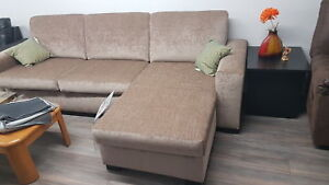 Divan Sectionnel sur mesure Custom made sectional sofa