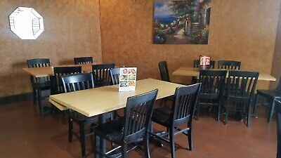 Restaurant Used 30 Tables And 13 Chairs