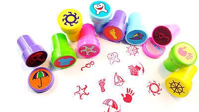 😊 10 x Kinder Stempel selbstfärbend  Mitgebsel Kindergeburtstag Tombola Gewinne