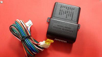 2 Ventanilla Eléctrico Cerradura (Enrollable) Módulo Para Auto Alarmas Universal