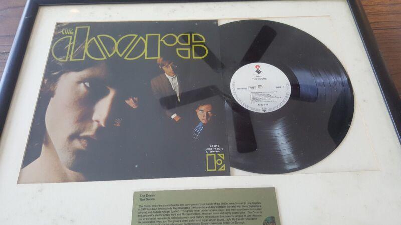 The Doors album in picture frame