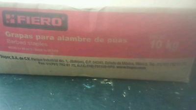 Fiero Gra-1g Barbed Staples 10 Kg 1 Lenght