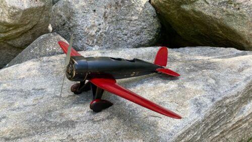 Vintage Ca 1920s 30s Wooden Airplane Model