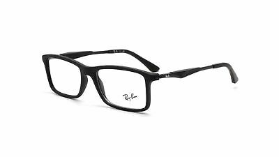 Ray Ban Matte Black Eyeglasses RX7023 2077 55mm Optical (Cheap Ray Ban Optical Frames)