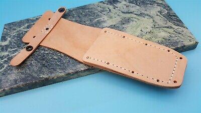 Ontario or Camillus JPK Pilot Survival Leather Fixed Blade Knife Belt Sheath FS