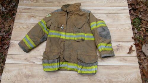 Janesville Firefighters Jacket Turnout Bunker Gear Fireman Size 40.32R