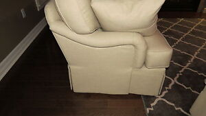Cream Couch by Wesley Hall London Ontario image 2