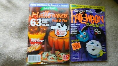 TASTE OF HOME HALLOWEEN FOOD & FUN 2009 & 63 GHOSTLY GOOD TREATS FREE USA SHIP - Halloween Food Treats