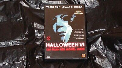 Halloween 6 DVD german deutsche dvd uncut der Fluch des Michael Myers ()