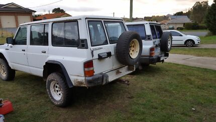 2 gq's and a crf450r swaps for diesel  Moss Vale Bowral Area Preview
