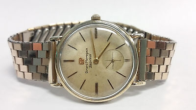 Vintage Girard-Perregaux Sea Hawk Rare Mechanical Winding Watch 32mm GF Case