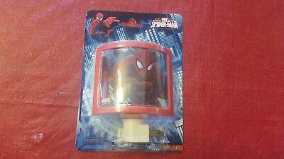 Marvel Ultimate Spiderman Night Light 120V
