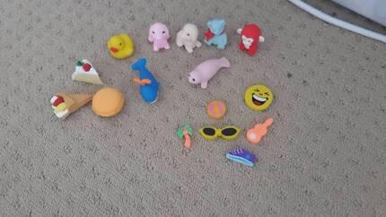 Tiny Eraser Toys