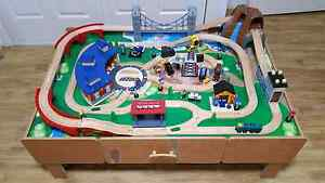 Imaginarium Classic Train Table with Roundhouse Kellyville The Hills District Preview