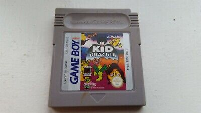 RARE-AUTHENTIC KID DRACULA -GAME BOY-GAME for sale  Shipping to Nigeria
