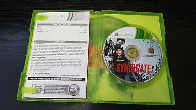 Syndicate Microsoft Xbox 360