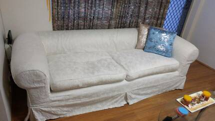 Comfy Black Seater Couch Sofa Bed Sofas Gumtree Australia