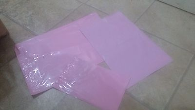 30 Strong PINK Mailing & Packaging Plastic Bags 3 Mixed Size's FREE POSTAGE
