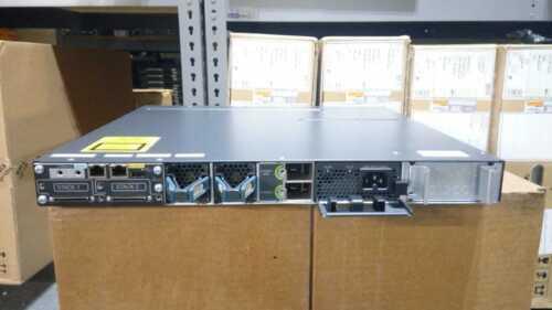Cisco Ws-c3750x-48p-s 48 Port 10/100/1000 Ethernet Switch W/ Single Ac Power