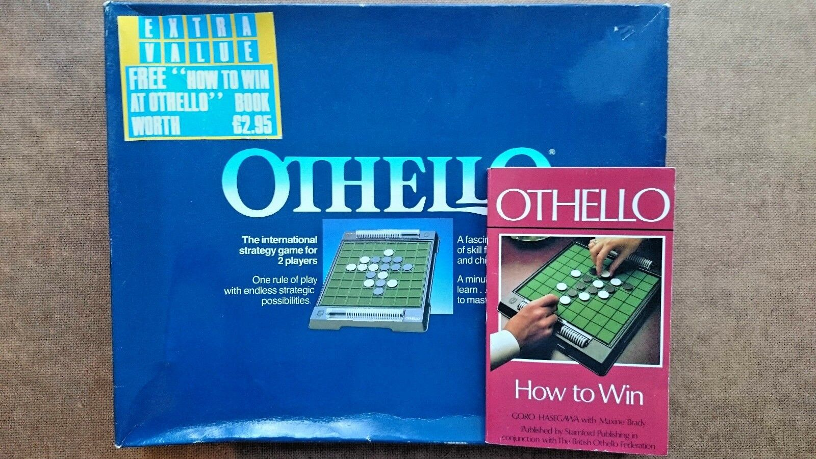 Othello  By Peter Pan Playthings (1987) - Plus Game Book