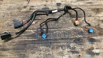 AUDI A6 C6 UNDER BONNET HEATER BLOWER MOTOR FAN WIRING LOOM 4F0971547A