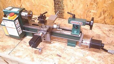 Cnc Lathe Conversion Kit For The Grizzlyharbor Freightlmssieg 7x10-14 Lathe