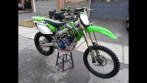 Kawasaki KX450F Dirt bike **mint condition**