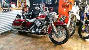 """HARLEY DAVIDSON """"MEXICAN LOW RIDER BAGGER"""" ROAD KING IMACCULATE Jimboomba Logan Area Preview"""