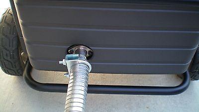 Honda Eu6500is Eu7000is Inverter Generator 1-12 Steel Exhaust Extension 2 Ft