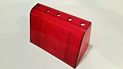 Code 3 Pse Mx7000 Red 5 Hole Lower Level Filter With Optics T02552
