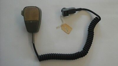 Ge General Electric Mastr Ii 2 Master Mvp Mobile Microphone Used With New Cord