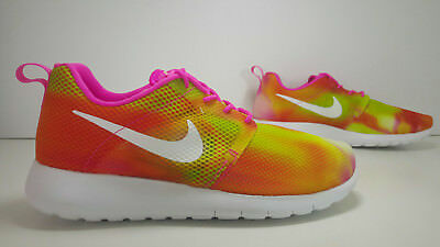 SCARPE N 36 UK 3.5 NIKE ROSHE ONE FLIGHT WEIGHT (GS) SNEAKERS BASSE 705486 601
