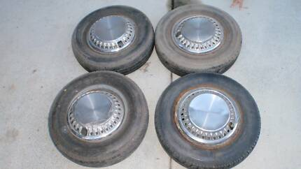 Datsun 120y stock rims and hubcaps Alexandra Hills Redland Area Preview