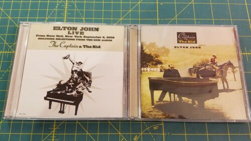 Elton John Captain And the Kid with BONUS Rose Hall Live CD QVC 2006