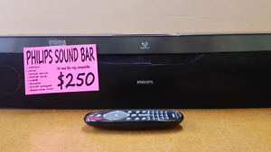 Philips sound bar / DVD/Bluray Player /IPOD/Radio Bendigo Bendigo City Preview