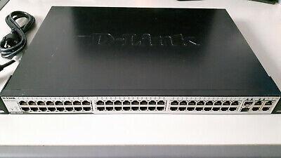 D-link DES  1252 48‑port L2 Switch with 4 Gigabit Copper Ports