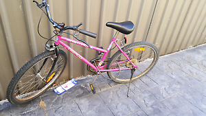 A nice bicycle with a lock and a helmet is on sale! Hurstville Hurstville Area Preview
