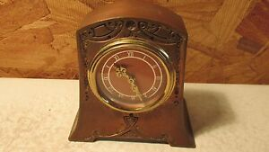 Antique Kaiser Germany Nouveau Clock