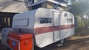 12 ft retro caravan Gladstone Gladstone City Preview