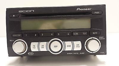 Original 2004-2009 Toyota Scion Pioneer Sat Radio CD MP3 WMA AUX # PT546-00080 Toyota Sat-radio