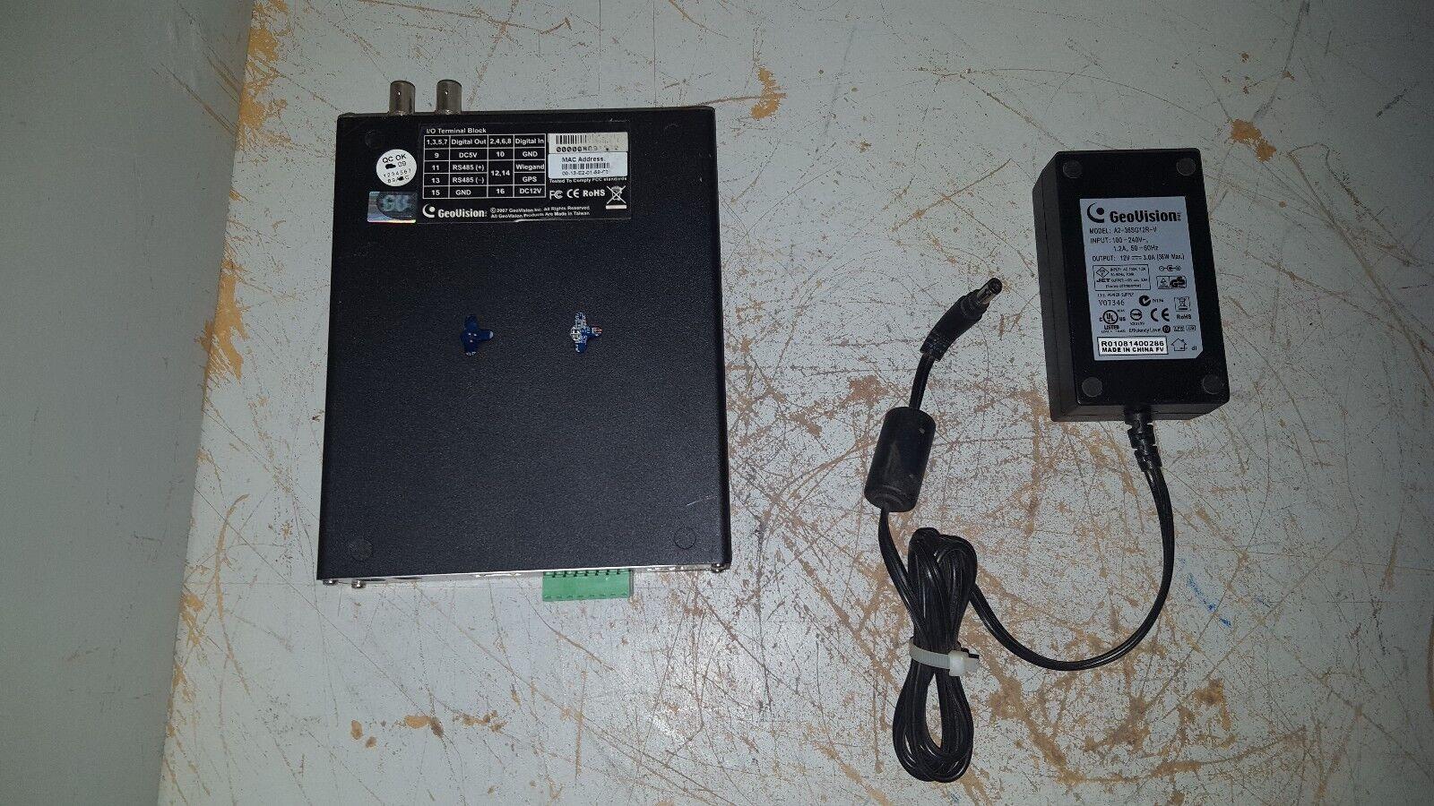 FOR PARTS Geovision Video Server, VS01/VS02 (PoE)