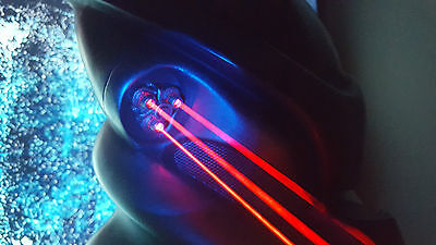 Tri-Laser kit for Predator bio mask # Aliens AVP Halloween Cosplay 3 red dot