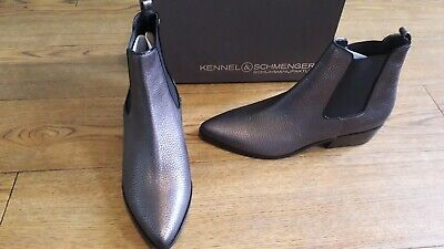 Kennel and Schmenger Fibi boots.RRP £280.7 UK.Pewter. Chelsea dealer.Butter soft
