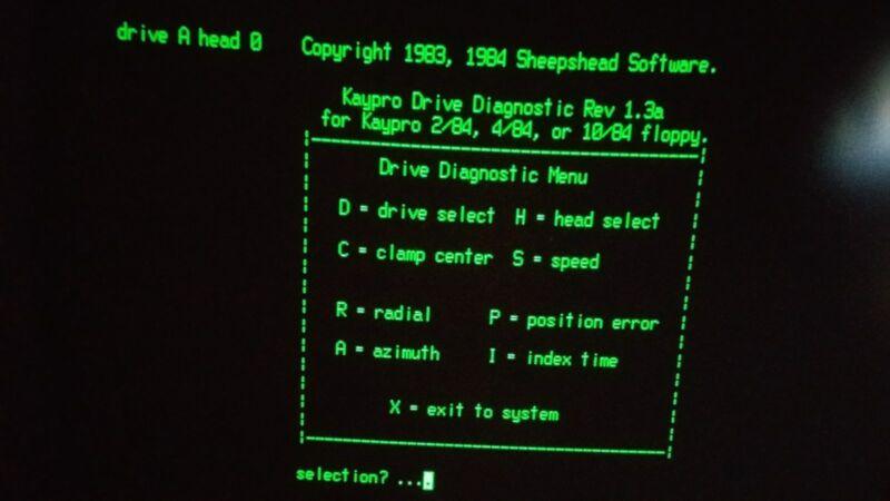 Kaypro 2x,4,10 System//bootdisk 5 DISKS Utils,Wordstar, Zork 1,2,3,Games,Diagn.