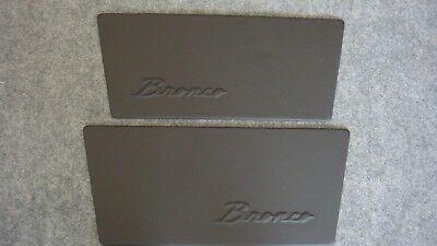 "Early Bronco Custom Door Panels 1968-1977  ""Bronco"", used for sale  Palmyra"