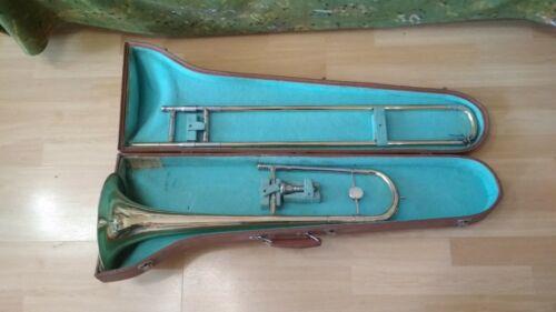 Old trombone of the Kiev factory 1982 USSR.