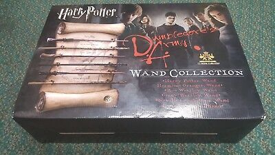Harry Potter Dumbledore's Army Wand Collection by The Noble Collection Brand New