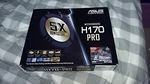 ASUS H170-PRO Motherboard Dernancourt Tea Tree Gully Area Preview