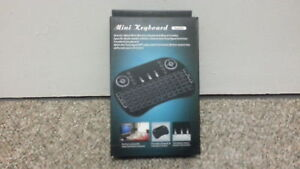 Mini wireless keyboard remote for android or pc's and more