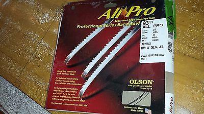 Olson 316 X .025 X 10tpi Raker X 93-12 Bandsaw Blade Xa